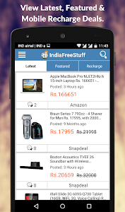 IndiaFreeStuff Deals Coupons screenshot 1
