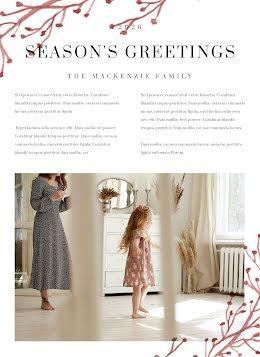 Season's Greetings - Christmas item