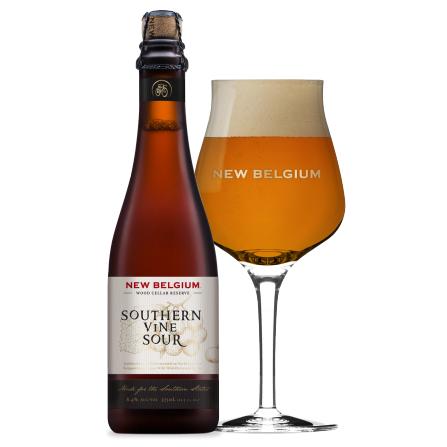 Logo of New Belgium Wood Cellar Reserve: Southern Vine Sour