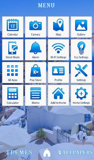Santorini, Greece +HOME Theme 1.0.0 Windows u7528 2