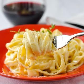 Fettuccine Alfredo With Milk Recipes