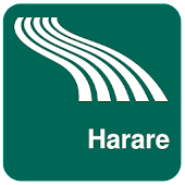 Harare Map offline