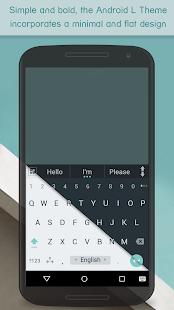 ai.type keyboard Free + Emoji - screenshot thumbnail