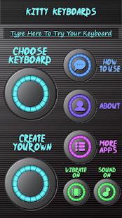 Kytarové klávesnice - náhled