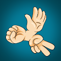 Hand Warriors - Rock Paper Scissor Game icon