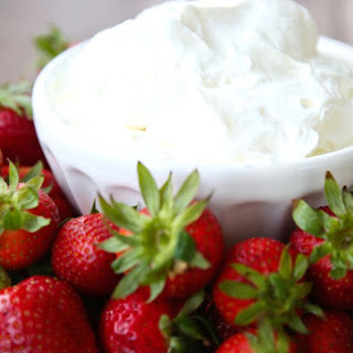 Mascarpone Cream Fruit Dip