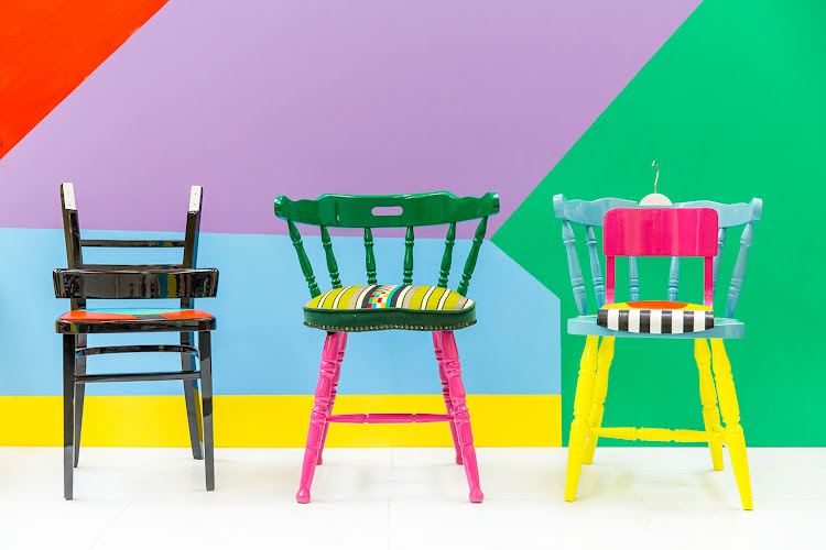 If Chairs Could Talk by Yinka Ilori.