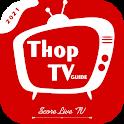 Thop TV - Live Cricket Score TV Guide icon