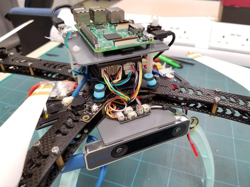 Integration of ArduPilot and VIO tracking camera (Part 1): Getting
