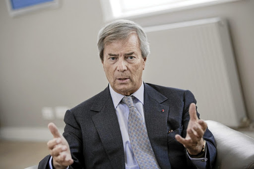 Vincent Bolloré. Picture: BLOOMBERG