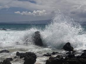 Photo: Big waves.