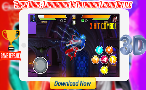 Super Wars : Lupin Vs Patra Legend Battle Apk Latest Version Download For Android 2