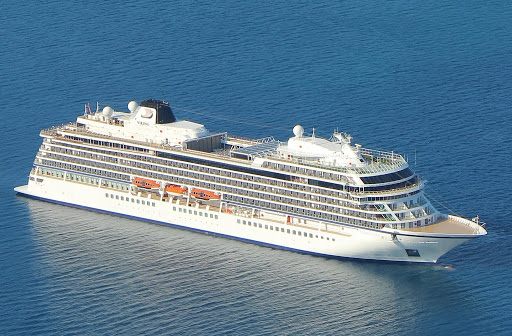 A ship in the Viking Ocean Cruises fleet.