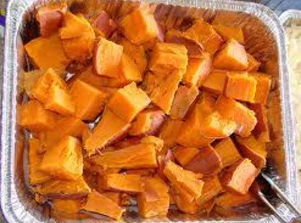 Vanilla Rum Sweet Potatoes Recipe