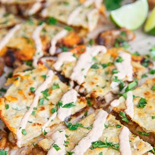 Mushroom Quesadillas with Chipotle Crema
