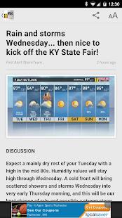 WHAS11 Louisville News- screenshot thumbnail