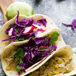 Slow Cooker Cilantro Lime Chicken Tacos (freezer).