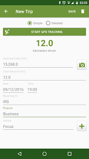 TaxMileage - GPS Mile Tracker- screenshot thumbnail