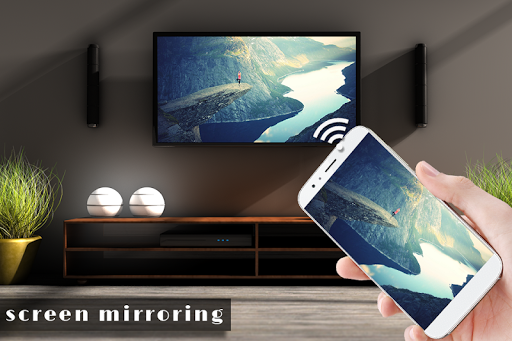 Screen Mirroring with TV : Connect Mobile to TV 1.1 screenshots 1