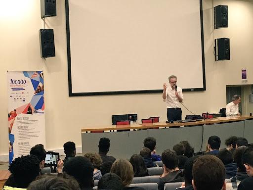 Intervention de Sébastien Missoffe, Vice Président et Directeur Général  chez Google France au Lycée Diderot à Paris