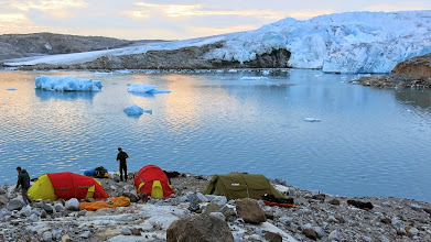Photo: First camp deep in the fjords near Isortorq