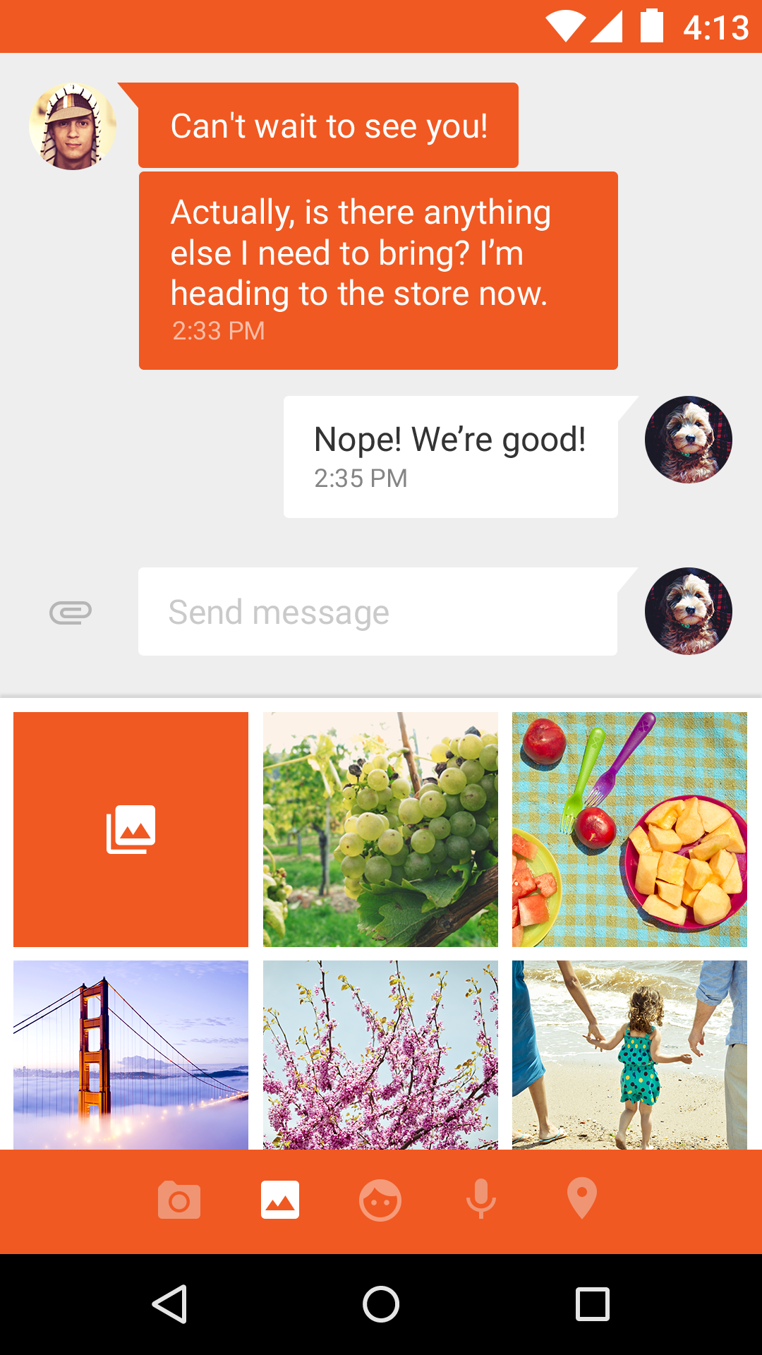 Messenger screenshot #4