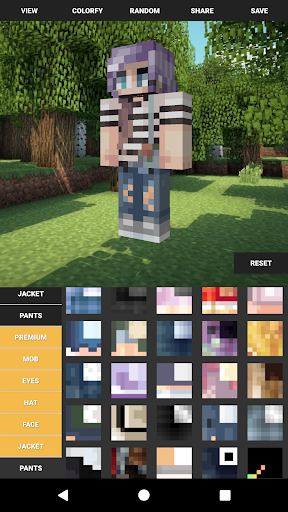 Custom Skin Creator For Minecraft  screenshots 1