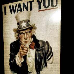 I WANT YOU by Brook Kornegay - Artistic Objects Signs ( uncle sam,  )