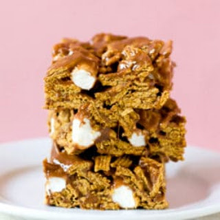 Golden Grahams S'mores Bars.