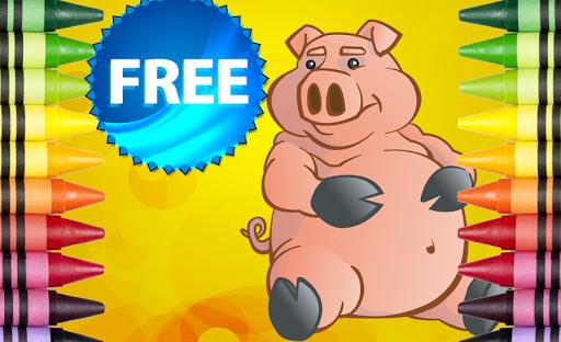 無料解谜Appの塗り絵の貯金箱豚|記事Game