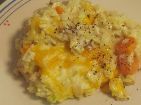 Easy Cheesey Chicken & Rice Recipe