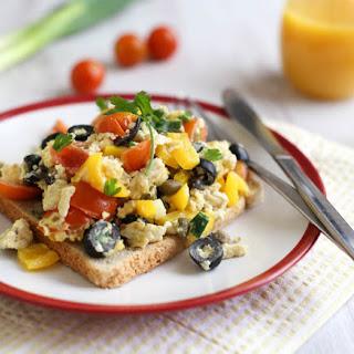 Mediterranean Scrambled Eggs.