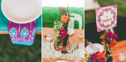 Photo: Mexican themed fiesta wedding