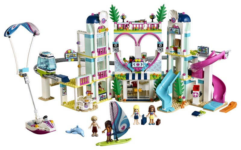 Contenido de Lego® 41347 Resort de Heartlake City