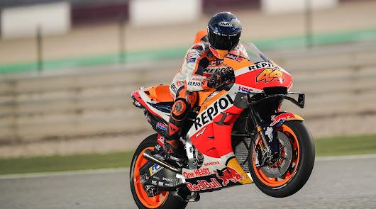 Comienza el mundial de MotoGP 2021, con la celebración del GP de Qatar.