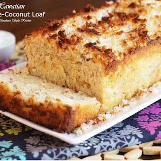 Hawaiian Pineapple-Coconut Loaf Recipe