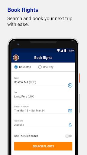 JetBlue - Book & manage trips 4.16.1 screenshots 5
