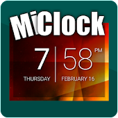 MiClock - Divided Clock Widget