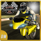 Super Transforming Bike Racing