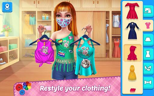 DIY Fashion Star - Design Hacks Clothing Game 1.2.1 screenshots 1