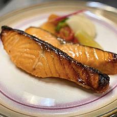 "Organic Scottish Salmon ""Saikyo Yaki"""