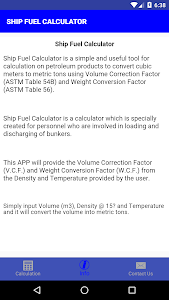 Download SHIP FUEL CALCULATOR APK latest version 1 0 for android devices