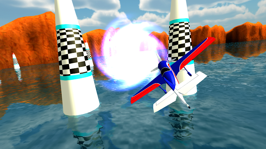 android Air Plane Race Multiplayer Screenshot 4