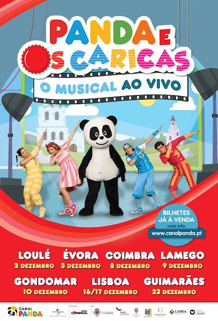 Panda e os Caricas - O musical ao vivo - Lamego - 9 de dezembro
