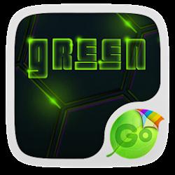 Green Neon GO Keyboard Theme
