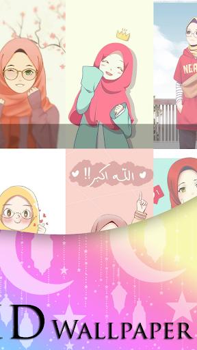 Girly Muslimah HD Wallpapers 1.5 screenshots 2