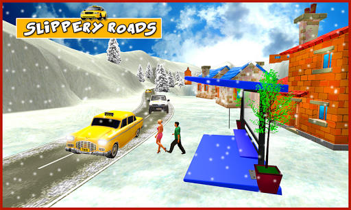 Snow Taxi Driver 3D
