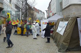 Photo: Zelt, Vorzelt und Aktive