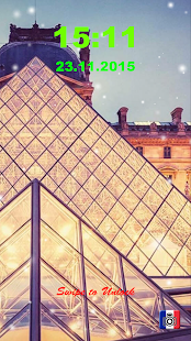 Paris Lock Screen screenshot