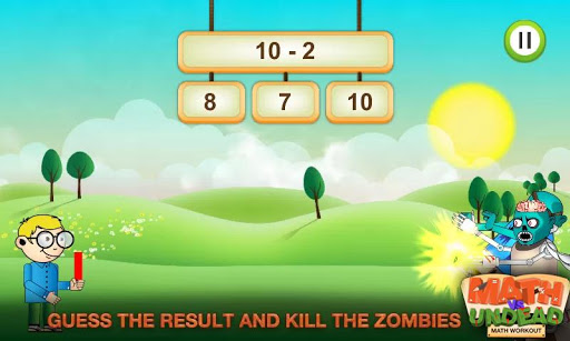 Math vs. Undead: Math Workout screenshots 2